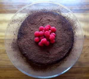 Squeaky Clean Chocolate Cake