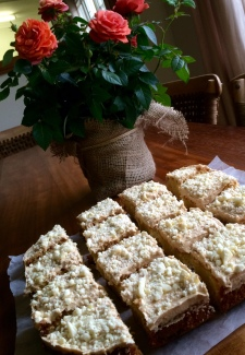 White Chocolate Blondies