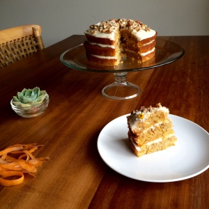 Positively Nuts Carrot Cake