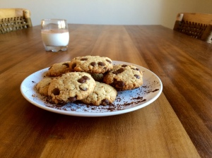 Chipper Choc Chip Cookies