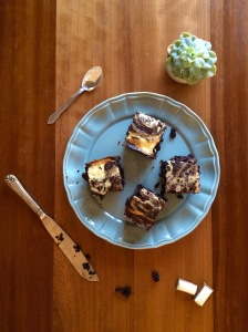 Chubby Cheesecake Chocolate Brownies